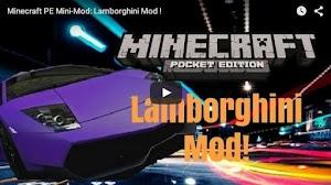 CAR MODS FOR MineCraft PE app screenshot