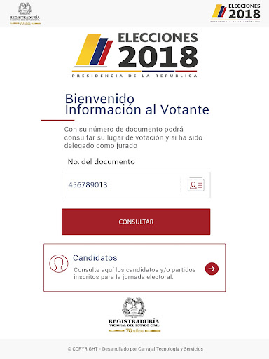 Infovotantes 2018 for PC