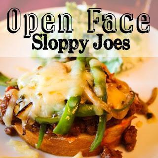Open Face Sloppy Joes