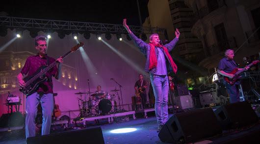 Javier Ojeda, durante un momento del concierto.