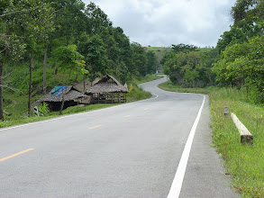 Photo: road Mae Sariang to Chiang Mai