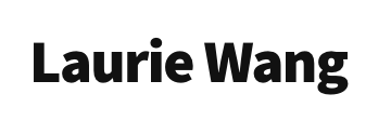 laurie wang logo
