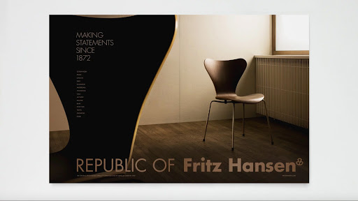 Ny visuel identitet til Fritz Hansen preview