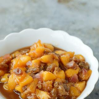 Quick Fresh Peach Chutney