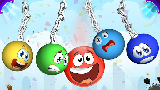 Bounce Ball Shooter - Slingshot The Red Ball 1.0 screenshots 12