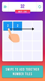 2048 Classic Puzzle Game - náhled