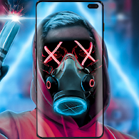Download Neon Mask Wallpaper Free For Android Neon Mask Wallpaper Apk Download Steprimo Com