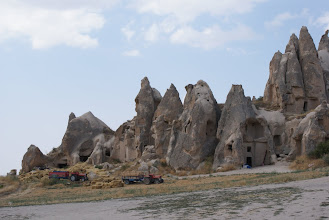 Photo: Farming near the rock formations