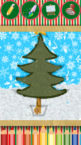 android Chrismas Magic Paint Screenshot 1