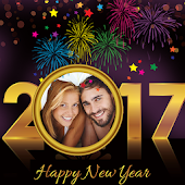 2017 New Year Photo Frames