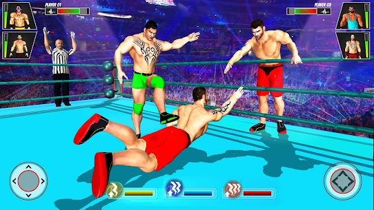 Grand Tag Team Wrestling Game: Ring Fighting Games 1