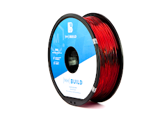 Translucent Red MH Build Series TPU Flexible Filament - 1.75mm (1kg)