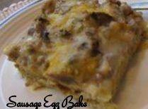 Sausage Egg Bake Recipe