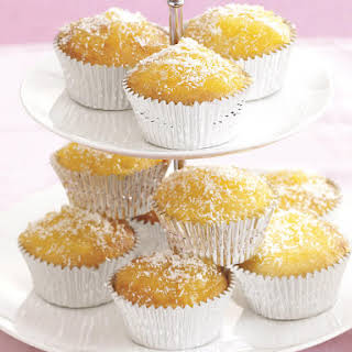 Coconut and Lemon Cupcakes.