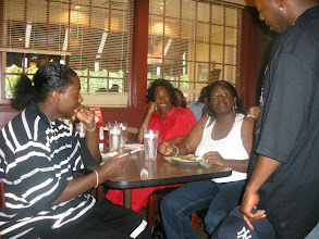 Photo: Cousin Jon-Anthony, Aunt VK, Cousin Aiesha & Rashid