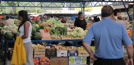 Photo: Day 78 - The Market in Backa Palanka
