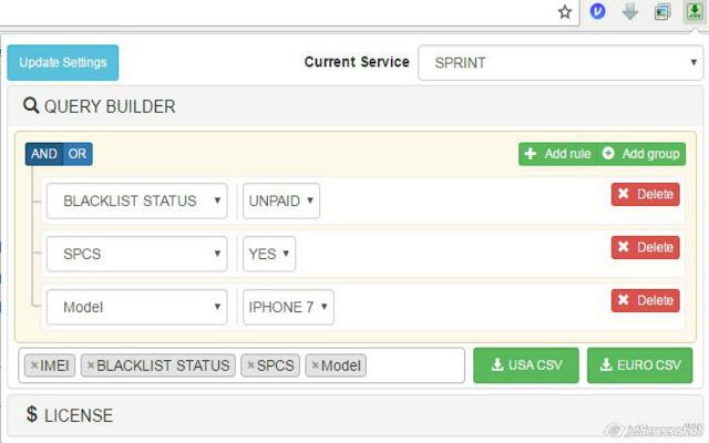 UnlockFusion Orders Searcher