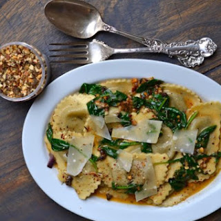 Ravioli with Butter Sauce Recipe