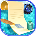 Write on Photos Pic Editor icon