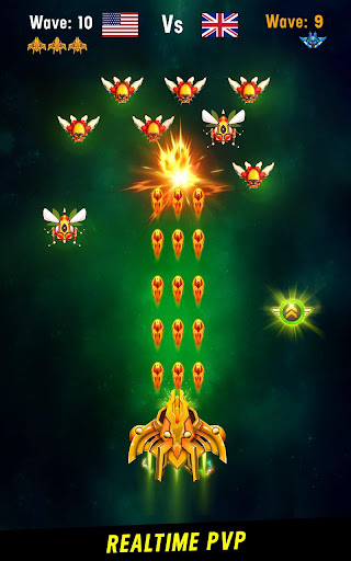 Space shooter - Galaxy attack - Galaxy shooter apktram screenshots 19