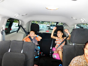 Photo: Plenty of room for the little ones. Who's going to see the first Hawaii license plate?