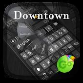 Downtown GO Keyboard Theme
