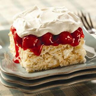Cherry Vanilla Crush Cake.