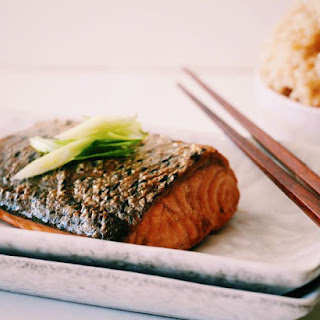 4 Ingredient Teriyaki Salmon.