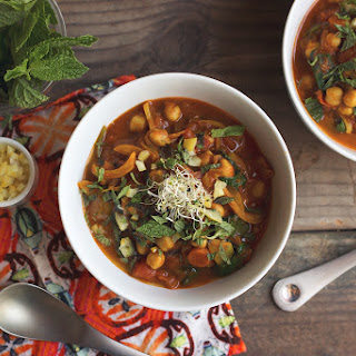 Moroccan Chickpea Stew.