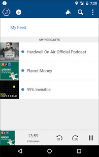 Joyride Podcast Player - screenshot thumbnail