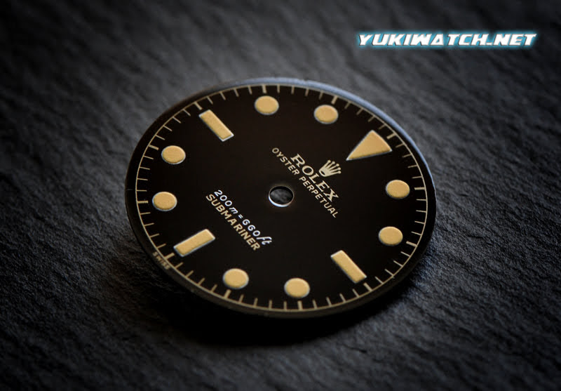 Submariner 6538 Gilt 2 Line Dial