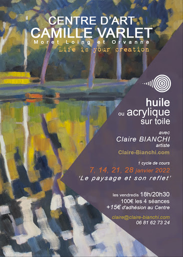 COURS huile / acrylique CENTRE D'ART CAMILLE VARLE