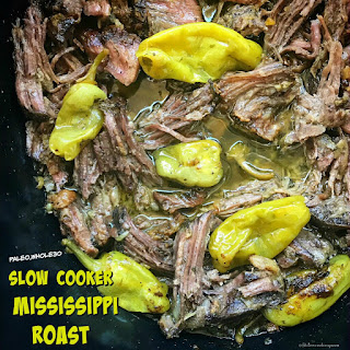 Slow Cooker Mississippi Roast (Paleo,Whole30).