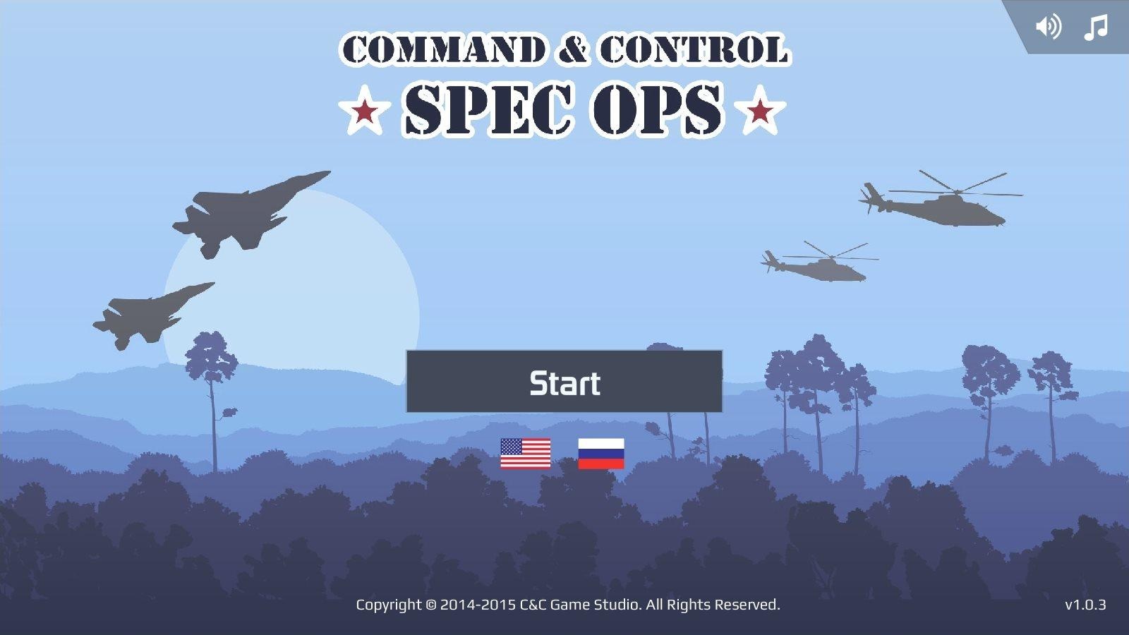 Command & Control: Spec Ops HD- screenshot