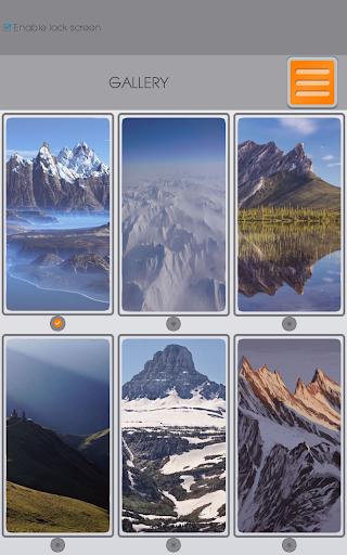 玩個人化App|山 拉鍊鎖屏免費|APP試玩