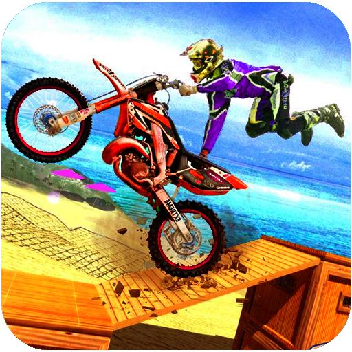 Bike Racing Tricky Stunt Simulation