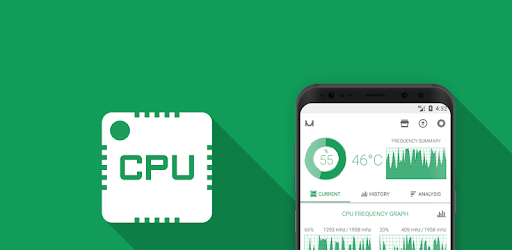 CPU Monitor - temperature, usage, performance - Apps on