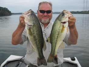 Photo: May 7, 2012 - Paul Close fishing with Sam Simons