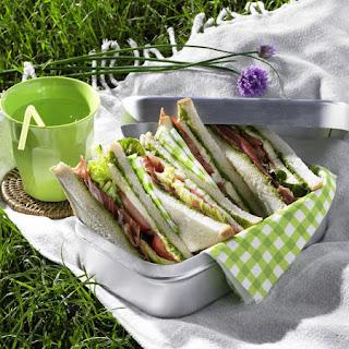 Serrano Ham Sandwiches.