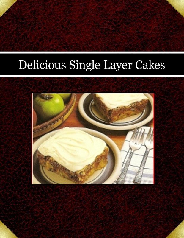 Delicious Single Layer Cakes