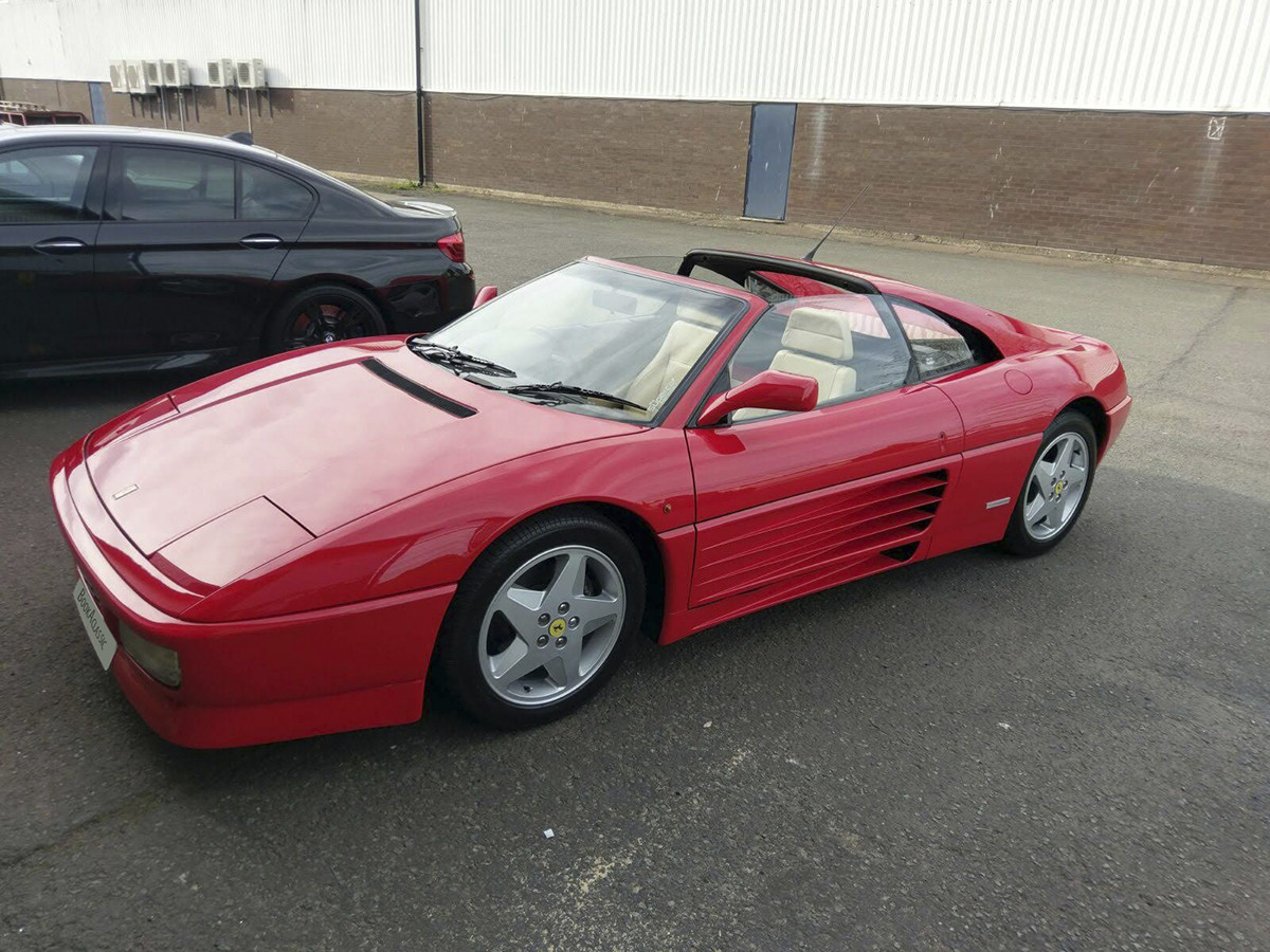 Ferrari 348 Ts Hire Shepperton