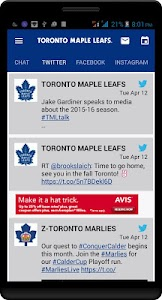 Maple Leafs Mobile screenshot 4