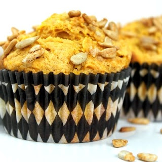 Pumpkin and Sunflower Seed Muffins