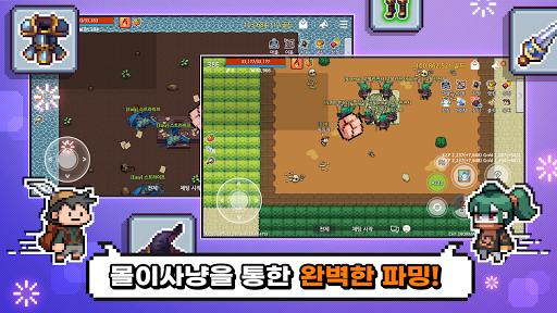 ud30cubc0dRPG - 2D MMORPG apktram screenshots 2