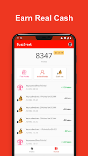 BuzzBreak - Read, Funny Videos & Earn Free Cash! Screenshot