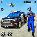 US Police Prado Cop Duty City War:Police Car Games icon