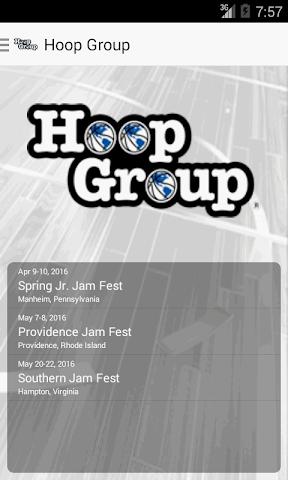 android Hoop Group Screenshot 0