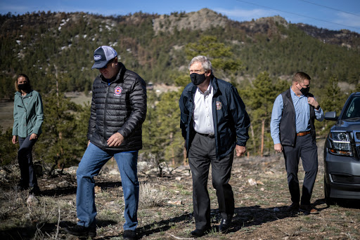 """""""Now is the time"""": Biden official joins Colorado leaders in burn zone to plot fight against climate-driven megafires"""