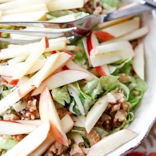 Apple, Celery and Walnut Salad with Honey Dijon Vinaigrette