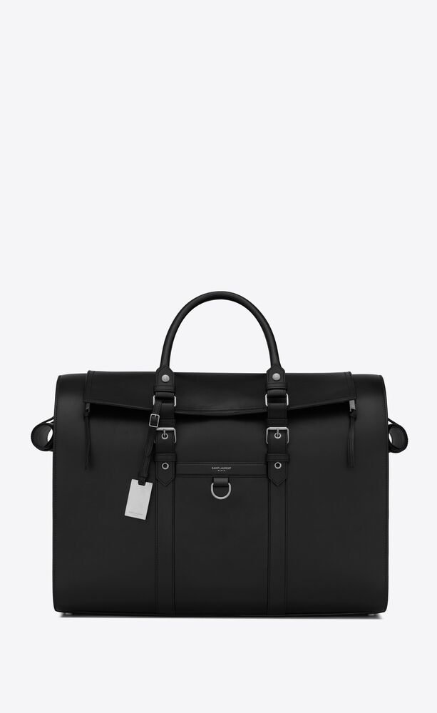 pet carrier bag in smooth leather